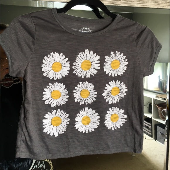 0bf1979fe Urban Outfitters Tops   Brand New Never Worn Daisy Crop Top   Poshmark
